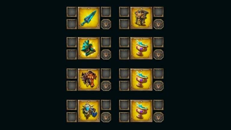 Tips Equipment Gears Sets - Lords Mobile